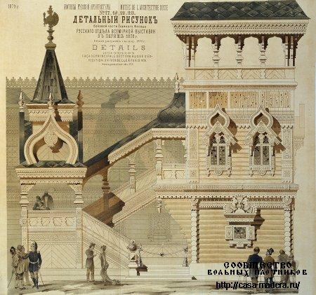 Городские обывательские дома в русском вкусе, Барановский Г.В.
