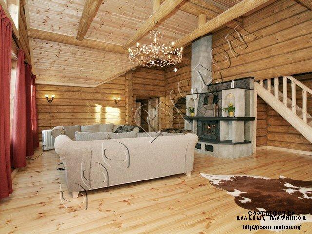 Срубы и деревянные дома из лафета