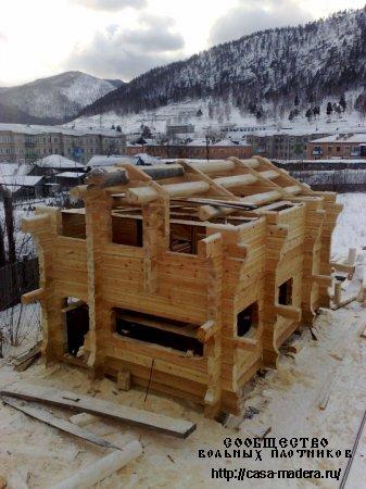Есть готовый домик из кедра