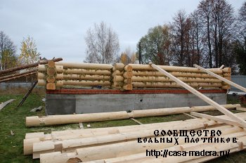 ИП Круглов Василий Алексеевич - Строительство бревенчатых домов и рубленых бань
