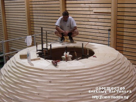 Самая большая деревянная чаша